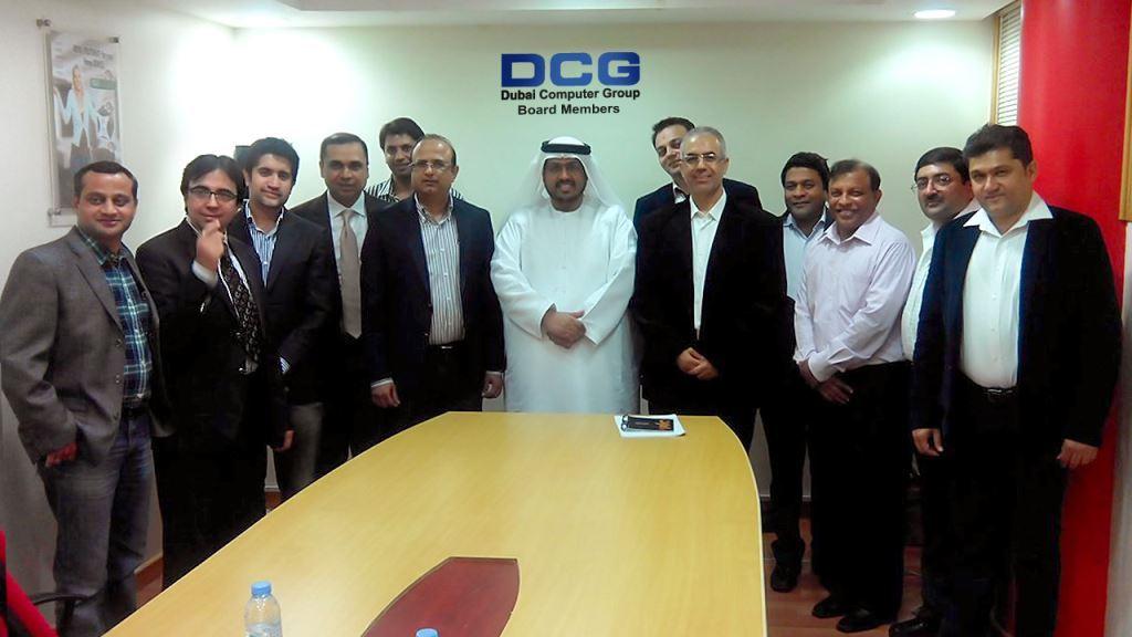 Mr. Vasant Menghani & DCG (Dubai Computer Group) Board Members