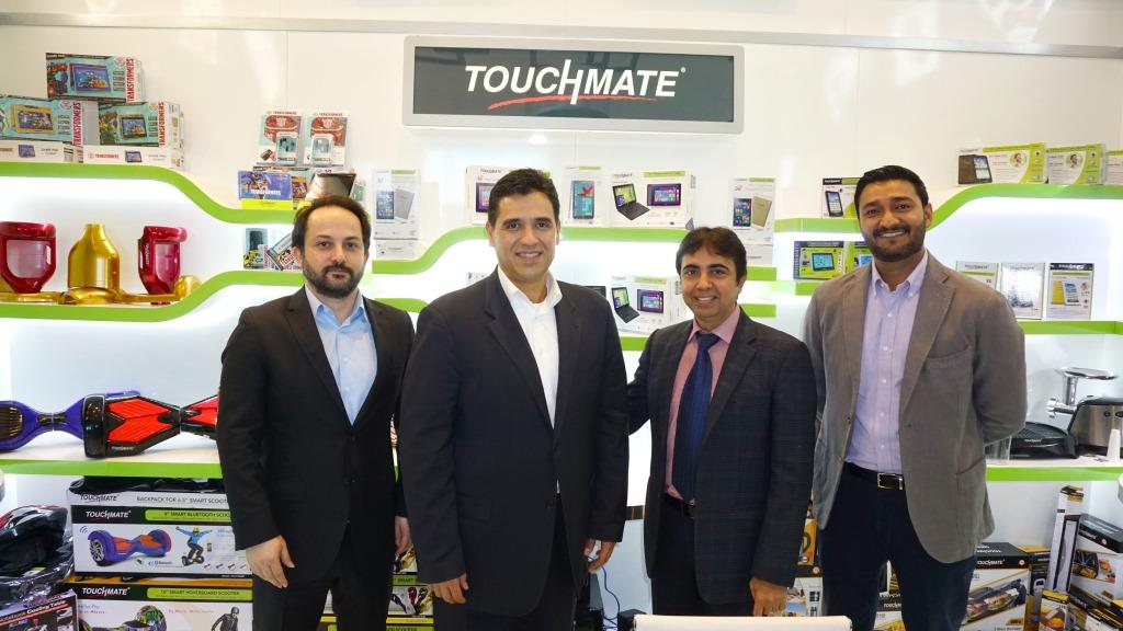 Microsoft Vice President Mr. Alvaro Visits Quality Group (TOUCHMATE) Headquarter for enhancing windows tablet with TOUCHMATE.Quality