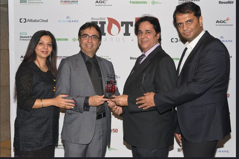 TOUCHMATE won Award for Best Brand Promotion Initiative Vendor of the Year 2016 by Reseller Hot50 Awards