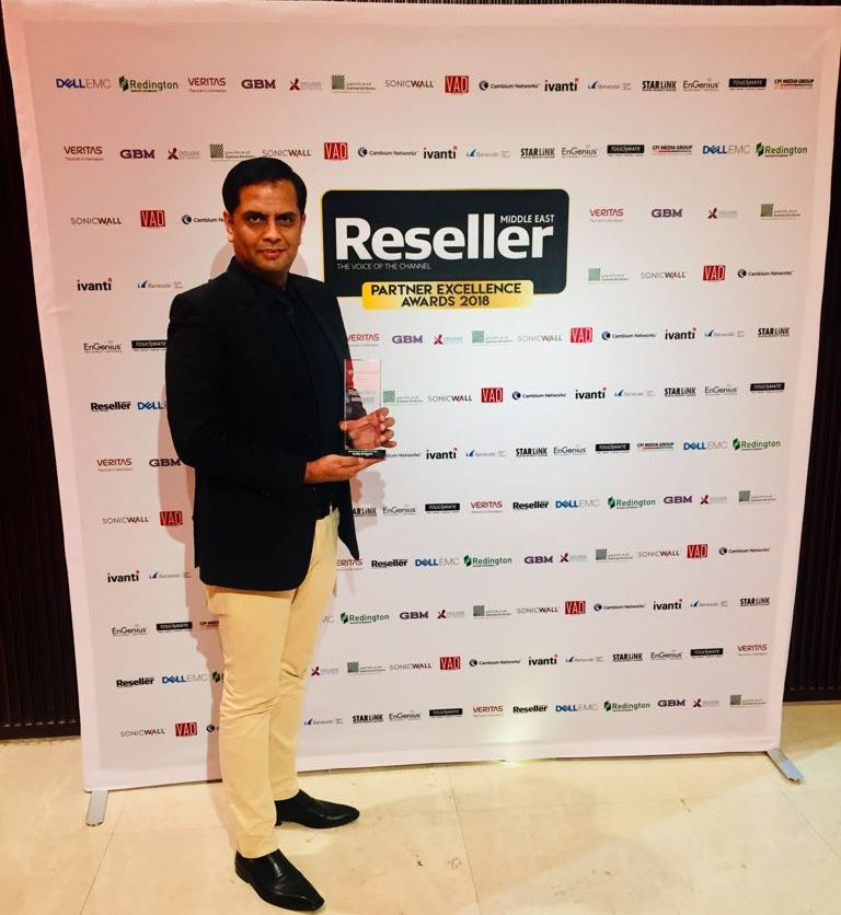 Quality Group (TOUCHMATE) won Award for SMB Consumer Reseller of the Year 2018.