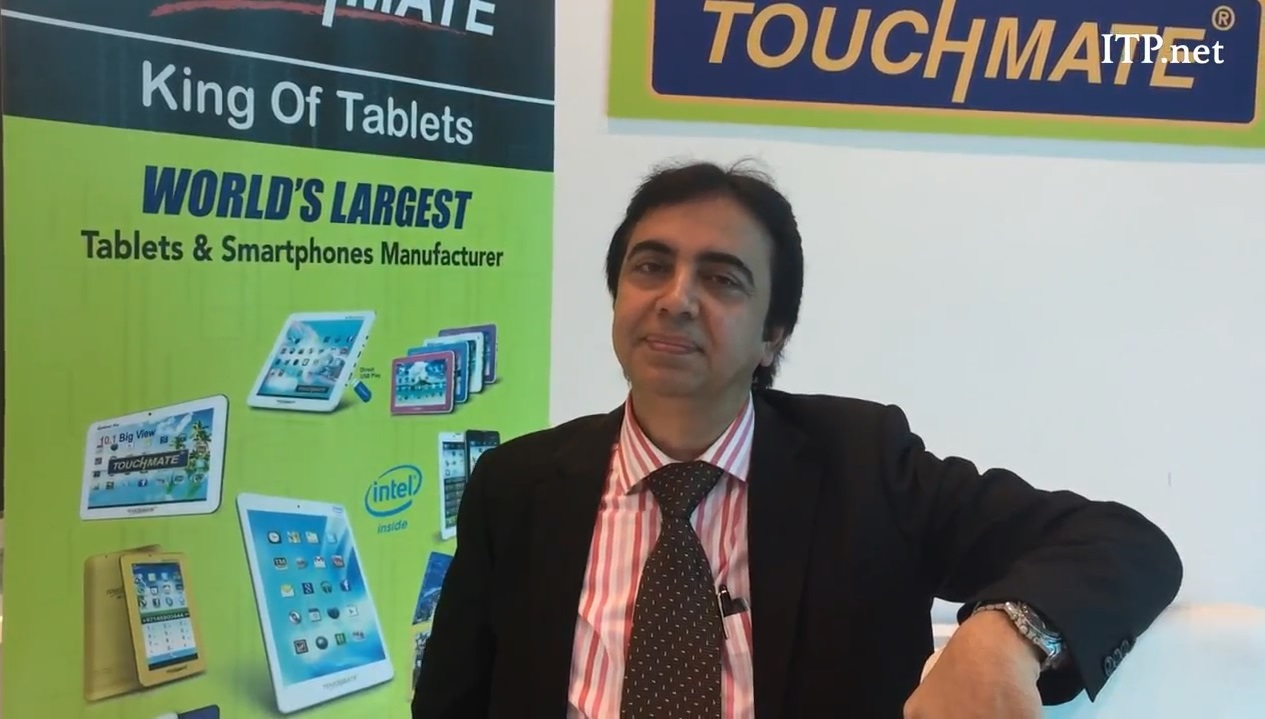 ITP Channel Magazine : TOUCHMATE founder Mr. Vasant Menghani talks business confidence and challenges